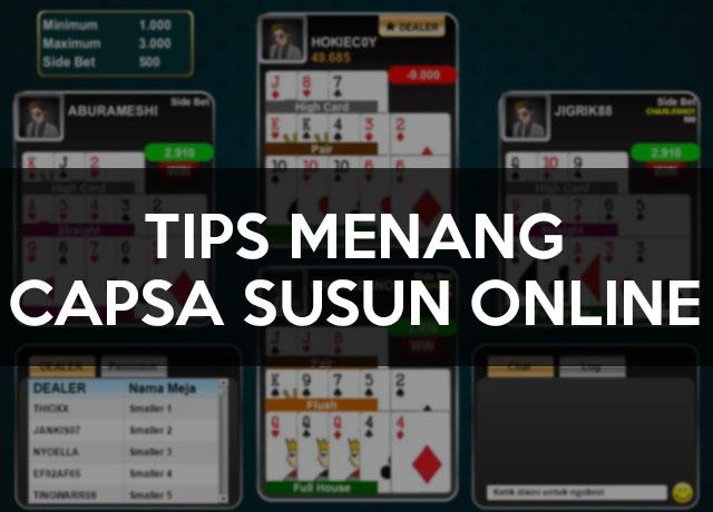 Tips Menang Capsa Susun Online
