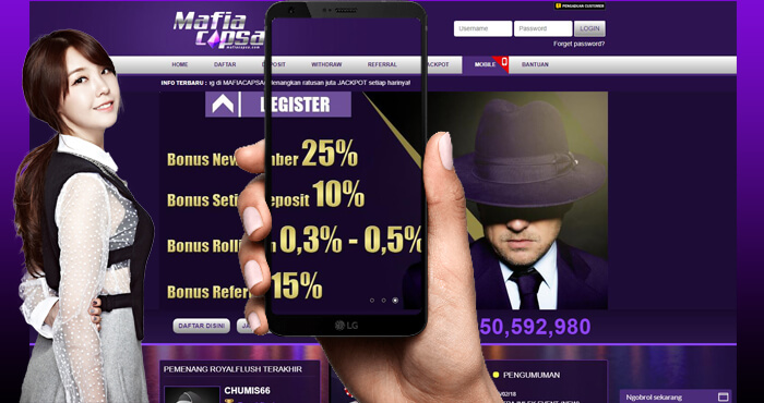 Situs Taruhan Capsa Susun Online Mafiacapsa Terbaik