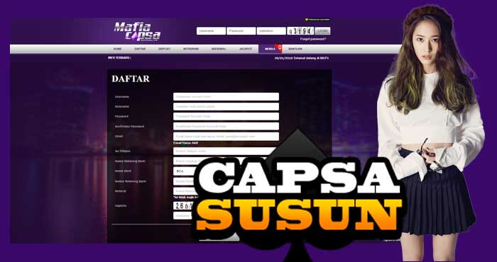 Cara Daftar Judi Capsa Susun Online Mafiacapsa